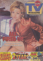 Newspaper TV Guide Cover The Toronto Sun TV Magazine April 13 1997