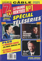 Canadian TV 7 Jours Cover