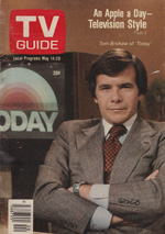 Canadian TV Guide Cover Vol 01 No 20 Issue 20 May 14 1977