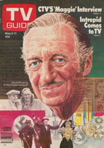 Canadian TV Guide Cover Vol 03 No 18 Issue 123 May 11 1979