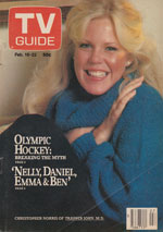 Canadian TV Guide Cover Vol 04 No 07 Issue 164 February 16 1980
