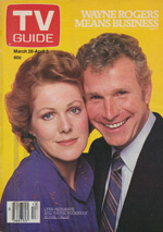 Canadian TV Guide Cover Vol 05 No 13 Issue 222 March 28 1981