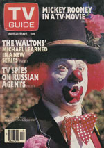 Canadian TV Guide Cover Vol 05 No 17 Issue 226 April 25 1981