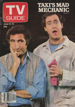 Canadian TV Guide Cover Vol 05 No 24 Issue 233 June 13 1981