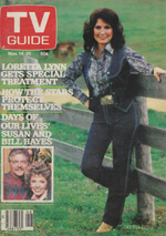 Canadian TV Guide Cover Vol 05 No 46 Issue 255 November 14 1981