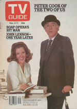 Canadian TV Guide Cover Vol 05 No 49 Issue 258 December 5 1981