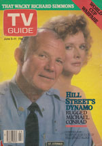 Canadian TV Guide Cover Vol 06 No 23 Issue 284 June 5 1982