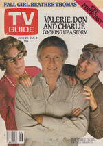 Canadian TV Guide Cover Vol 06 No 26 Issue 287 June 26 1982