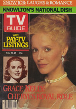 Canadian TV Guide Cover Vol 07 No 08 Issue 321 February 19 1983