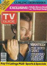 Canadian TV Guide Cover Vol 07 No 13 Issue 329 April 16 1983