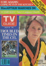Canadian TV Guide Cover Vol 07 No 28 Issue 341 July 9 1983