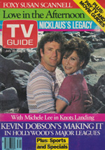 Canadian TV Guide Cover Vol 07 No 31 Issue 344 July 30 1983