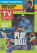 Canadian TV Guide Cover Vol 08 No 13 Issue 379 March 31 1984
