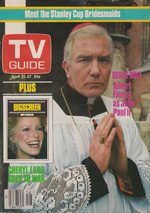 Canadian TV Guide Cover Vol 08 No 16 Issue 382 April 21 1984