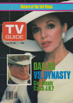 Canadian TV Guide Cover Vol 08 No 25 Issue 391 June 23 1984