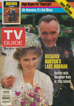 Canadian TV Guide Cover Vol 08 No 45 Issue 411 November 10 1984