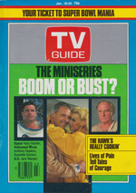 Canadian TV Guide Cover Vol 09 No 03 Issue 421 January 19 1985