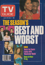 Canadian TV Guide Cover Vol 09 No 26 Issue 444 June 29 1985