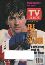 Canadian TV Guide Cover Vol 11 No 01 Issue 522 Juanuary 3 1987