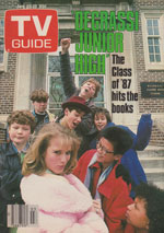 Canadian TV Guide Cover Vol 11 No 03 Issue 524 January 17 1987