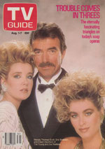 Canadian TV Guide Cover Vol 11 No 31 Issue 552 August 1 1987