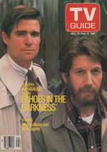 Canadian TV Guide Cover Vol 11 No 44 Issue 565 October 31 1987