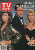 Canadian TV Guide Cover Vol 12 No 32 Issue 605 August 6 1988