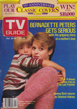 Canadian TV Guide Cover Vol 12 No 43 Issue 616 October 22 1988