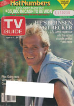 Canadian TV Guide Cover Vol 13 No 13 Issue 639 April 1 1989