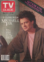 Canadian TV Guide Cover Vol 13 No 09 Issue 645 May 13 1989