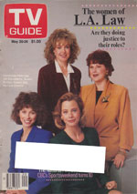 Canadian TV Guide Cover Vol 13 No 20 Issue 646 May 20 1989