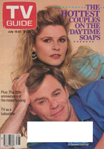 Canadian TV Guide Cover Vol 13 No 28 Issue 654 July 15 1989