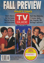 Canadian TV Guide Cover Vol 14 No 37 Issue 715 September 15 1990