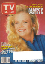 Canadian TV Guide Cover Vol 15 No 05 Issue 735 February 2 1991