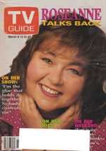 Canadian TV Guide Cover Vol 15 No 10 Issue 740 March  9 1991