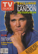 Canadian TV Guide Cover Vol 15 No 20 Issue 750 May 18 1991