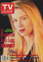 Canadian TV Guide Cover Vol 15 No 32 Issue 762 August 10 1991