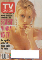 Canadian TV Guide Cover Vol 15 No 35 Issue 765 August 31 1991