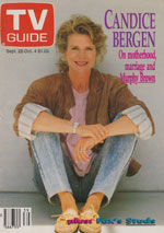 Canadian TV Guide Cover Vol 15 No 39 Issue 769 September 28 1991