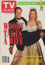 Canadian TV Guide Cover Vol 16 No 18 Issue 800 May 2 1992
