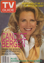 Canadian TV Guide Cover Vol 16 No 31 Issue 813 August 1 1992