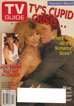 Canadian TV Guide Cover Vol 17 No 07 Issue 841 February 13 1993