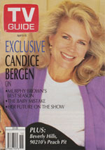 Canadian TV Guide Cover Vol 18 No 15 Issue 901 April 9 1994