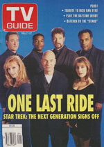 Canadian TV Guide Cover Vol 18 No 21 Issue 907 May 21 1994