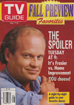 Canadian TV Guide Cover Vol 18 No 38 Issue 924 September 17 1994