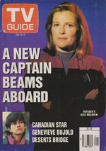 Canadian TV Guide Cover Vol 18 No 41 Issue 927 October 8 1994