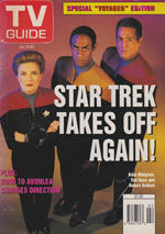 Canadian TV Guide Cover Vol 19 No 02 Issue 941 January 14 1995