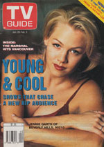 Canadian TV Guide Cover Vol 19 No 04 Issue 943 January 28 1995