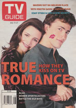 Canadian TV Guide Cover Vol 19 No 28 Issue 967 July 15 1995
