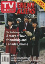 Canadian TV Guide Cover Vol 19 No 50 Issue 989 December 9 1995